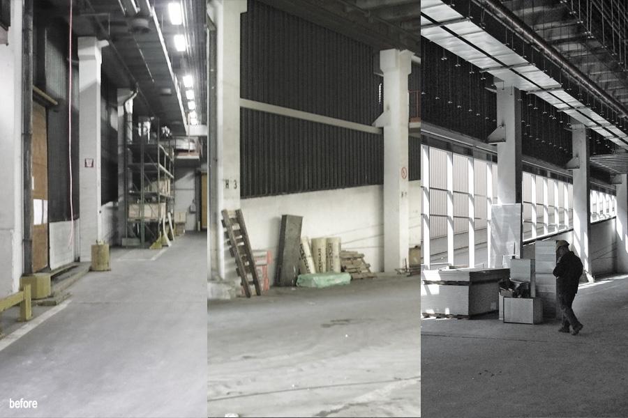 testing facility b ro vorseriencenter audi br ssel architekten aachen architekturb ro aus. Black Bedroom Furniture Sets. Home Design Ideas